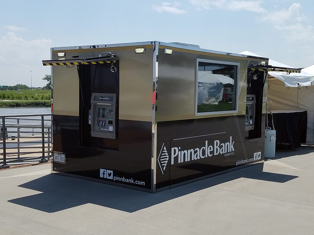 Mobile Trailer with Triton ATMs