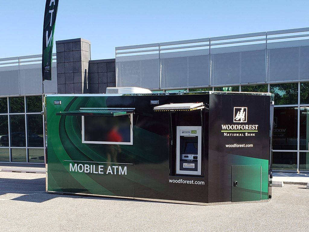 Mobile Trailer with Triton ATM