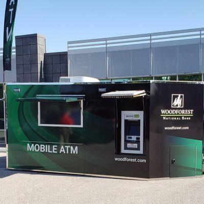 Mobile ATM Trailer