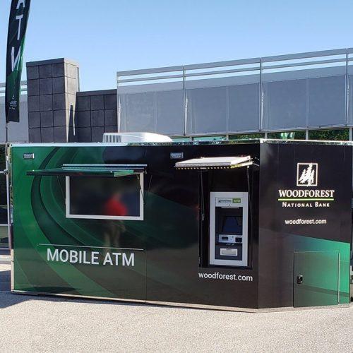 Mobile Trailer with Triton ATM