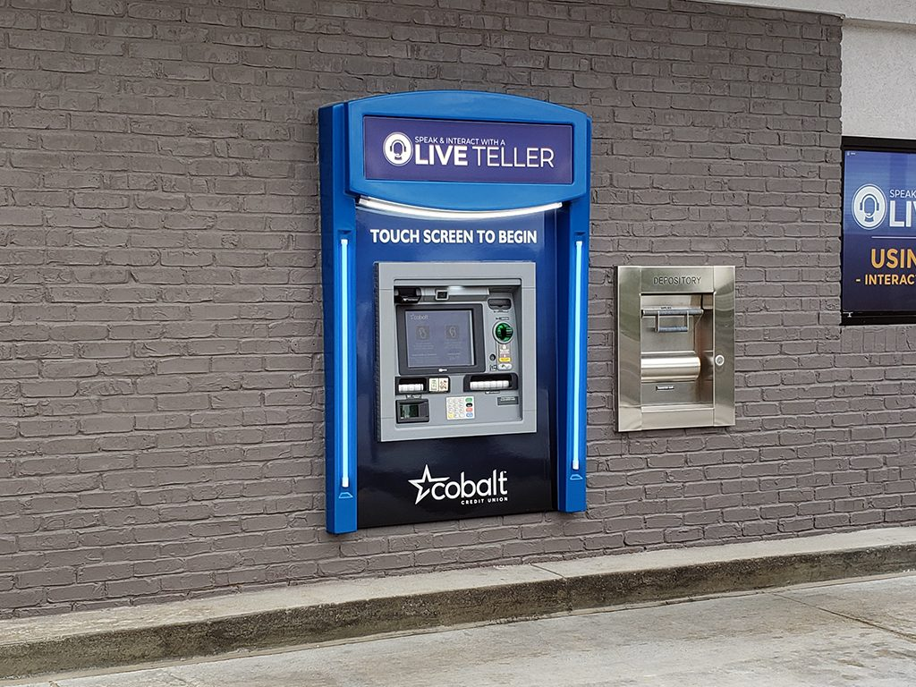 Fiberglass Surround with NCR ATM