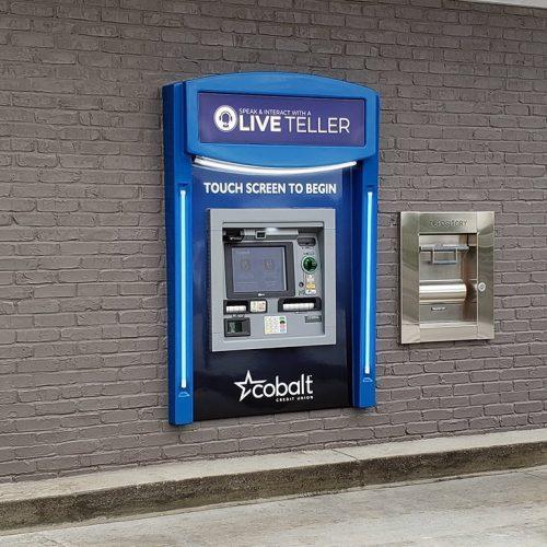 Fiberglass Surround with NCR ATM