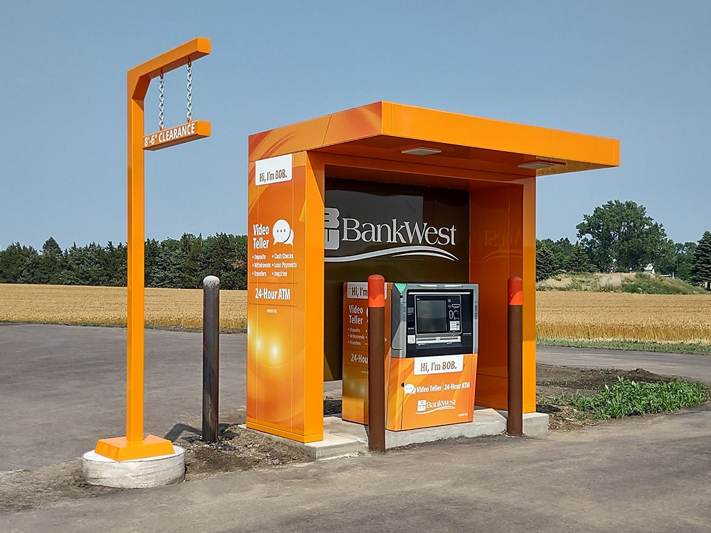 Canopy by Heritage Industries with NCR ATM